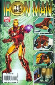 Iron Man End (2008) Marvel comic book